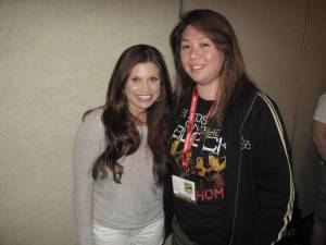 Me with Danielle Fishel