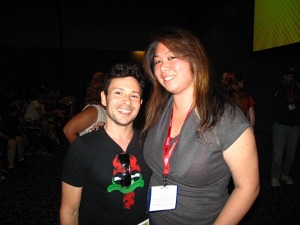 Me with Jason Marsden